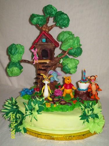 Torta artesanal la casita del bosque de winie pooh y sus - Casitas del bosque ...