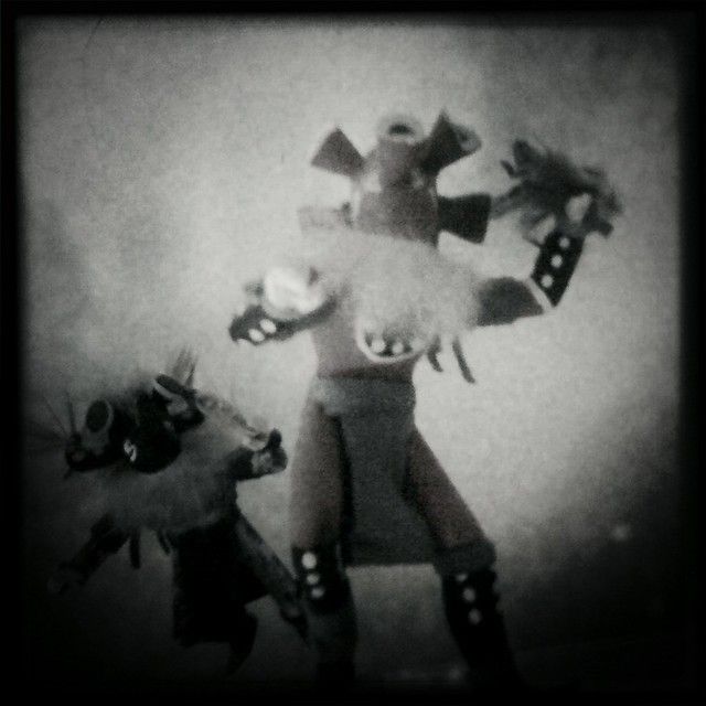 Tourist Kachinas 1 (Hipstamatic iPhone Capture)