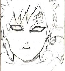 artwork, line art, sketch, manga, drawing, cartoon, illustration, black-and-white,