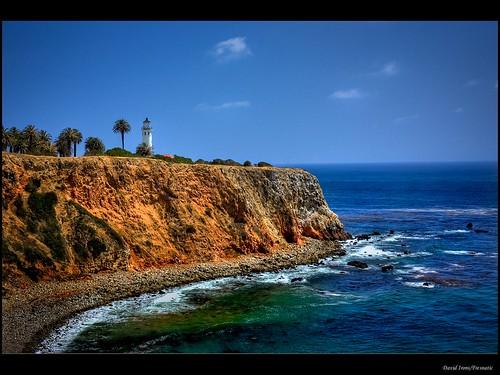 ocean usa beach lighthouses pacificcoast photomatix californialighthouses pointvicentelighthouse pacificcoastlighthouses canonrebelxsi fresnatic