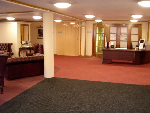 Foyer Reception Area : Pin carpet tile entrance mat matting foyer reception by