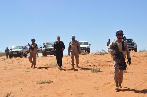 Patroling Darfur
