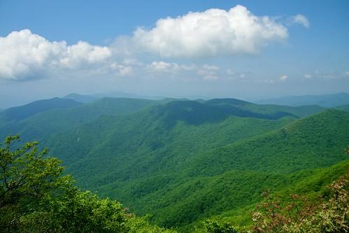 mountain standing indian appalachian nantahala