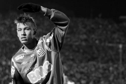 Neymar da Silva Santos Júnior | Copa Libertadores de America 2011 | Peñarol - Santos | 110616-6940-jikatu