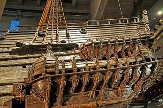 Sweden_1019 - Back end of the Vasa