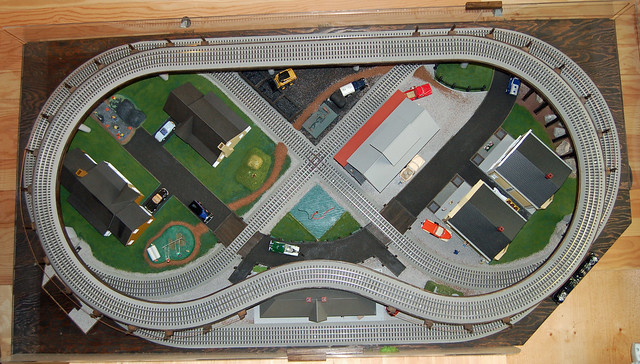 O Gauge Portable Train Layout Flickr Photo Sharing