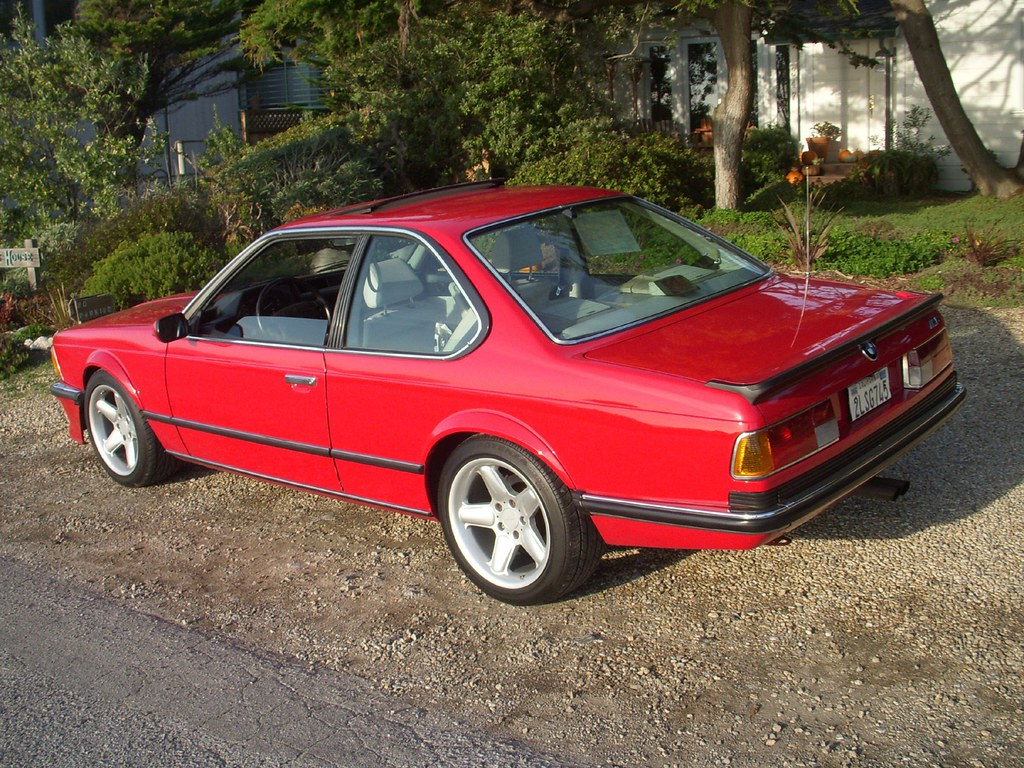 1988 BMW M6 E24 Coupe For Sale Rear | Bring A Trailer | Flickr
