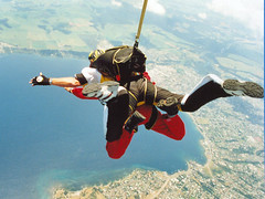 tandem skydiving, air sports, sports, parachuting, windsports, extreme sport,
