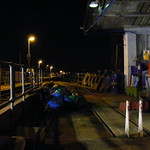 Hythe Pier Railway at Night