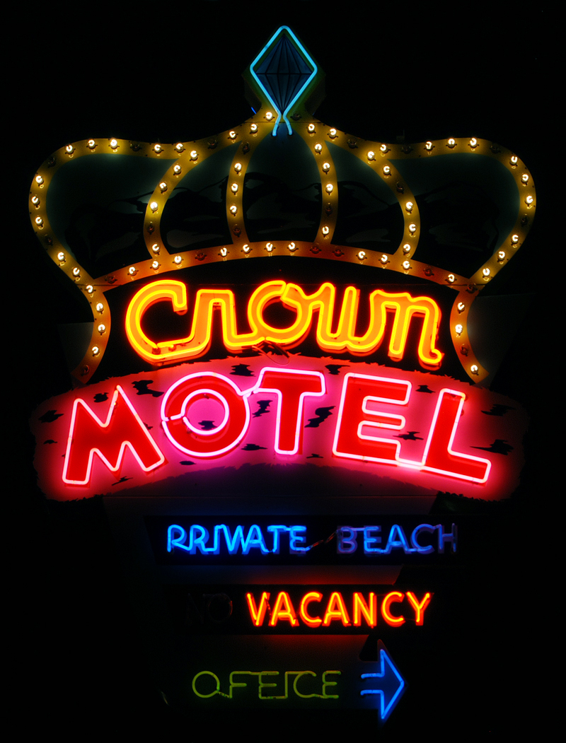 Crown Motel (Ferrari's Crown Resort) - 8200 North Lake Boulevard, Kings Beach, California U.S.A. - December 5, 2009
