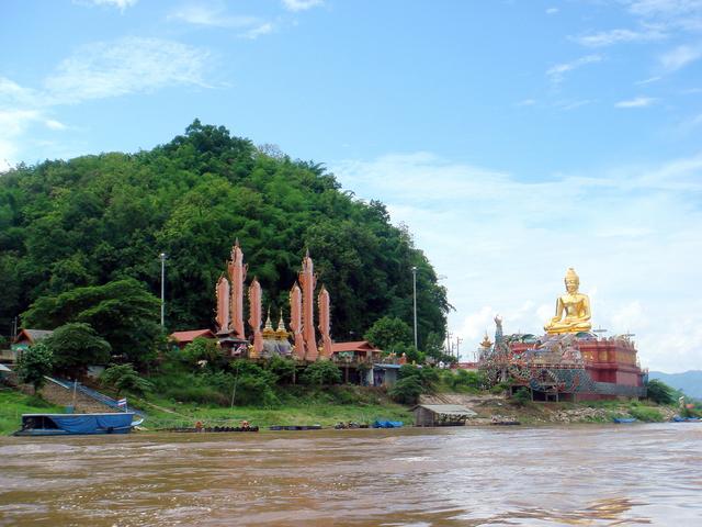 0705清莱 金三角 黄金三角洲 长尾船 湄公河 泰北旅游