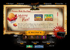 Mrs. Paul's Fish 'n' Dips Consumer Website (2004)