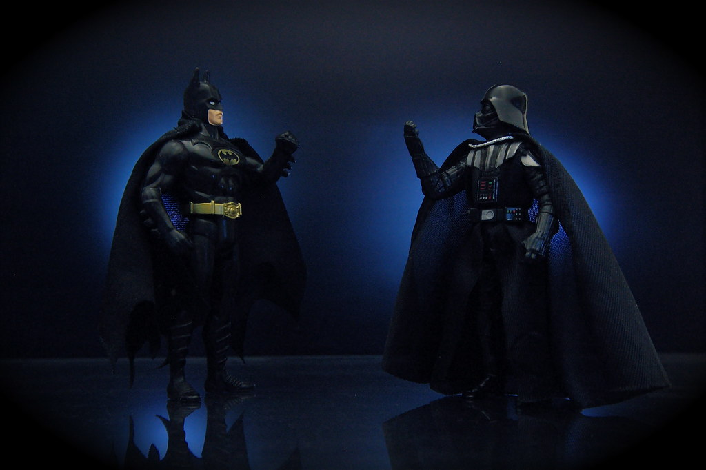 Batman vs. Darth Vader (32/365)