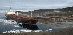 Antarctica: USNS Paul Buck