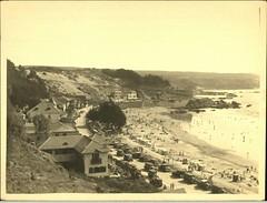 Playa Amarilla en Concon, Viña del Mar, 1930