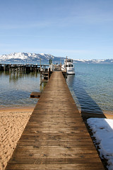 long dock walk - Lake Tahoe