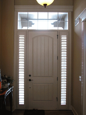 Custom Sidelight Shutters Tired Of No Great Solutions