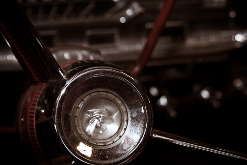 vintage car photo