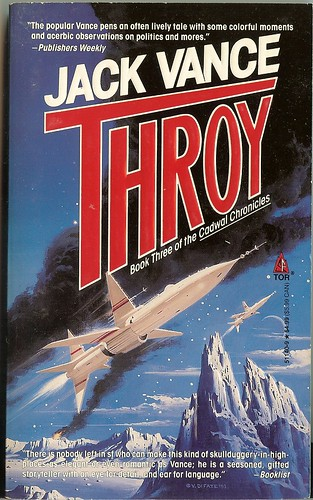 Jack Vance - Thory - Cadwal Chronicles book 3 - cover artist Vincent Di Fate - TOR May 1994