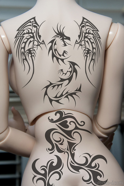 rising dragon tattoo flickr photo sharing