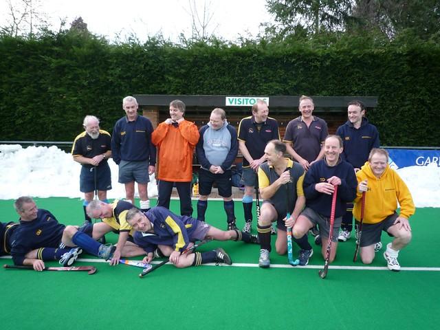 Canterbury, Shrewsbury Hockey Veterans 14th Feb 2010