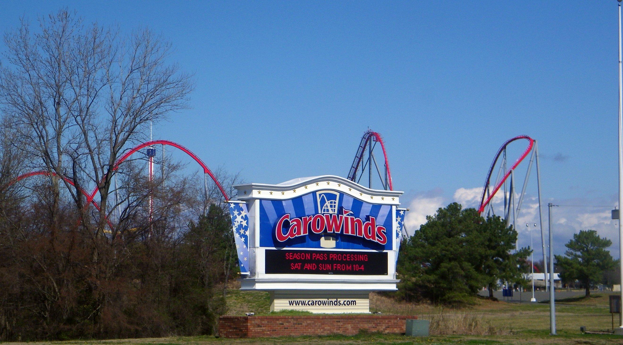 Carowinds Contstruction Tour 2010