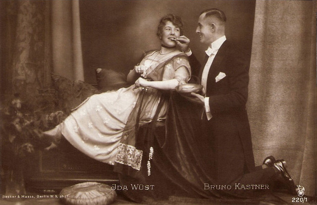 Ida Wüst, Bruno Kastner