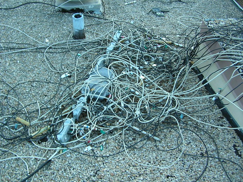 Cable installers nightmare