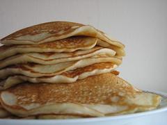 meal, breakfast, pannekoek, palatschinke, food, dish, cuisine, pancake,