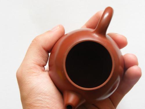 """Da Hong Pao Clay """"Dragon Egg"""" Long Dan Yixing teapot 110ml"""
