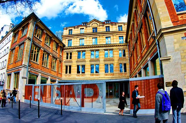 paris boulevard de la villette 10 ecole d 39 architecture de paris villette flickr photo sharing. Black Bedroom Furniture Sets. Home Design Ideas
