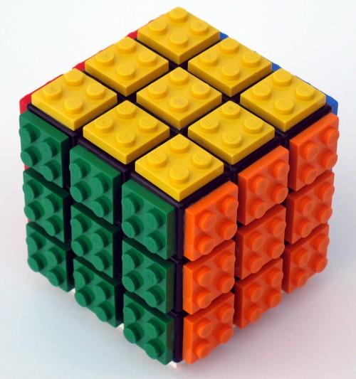 Лего кубик рубик как сделать 5