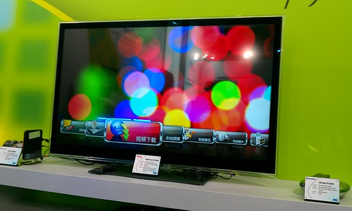 VIA QuadCore @ Computex 2011-VIA and TCL Smart TV