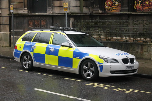 WX10GYU BMW 5 Series ARV, Avon and Somerset Constabulary