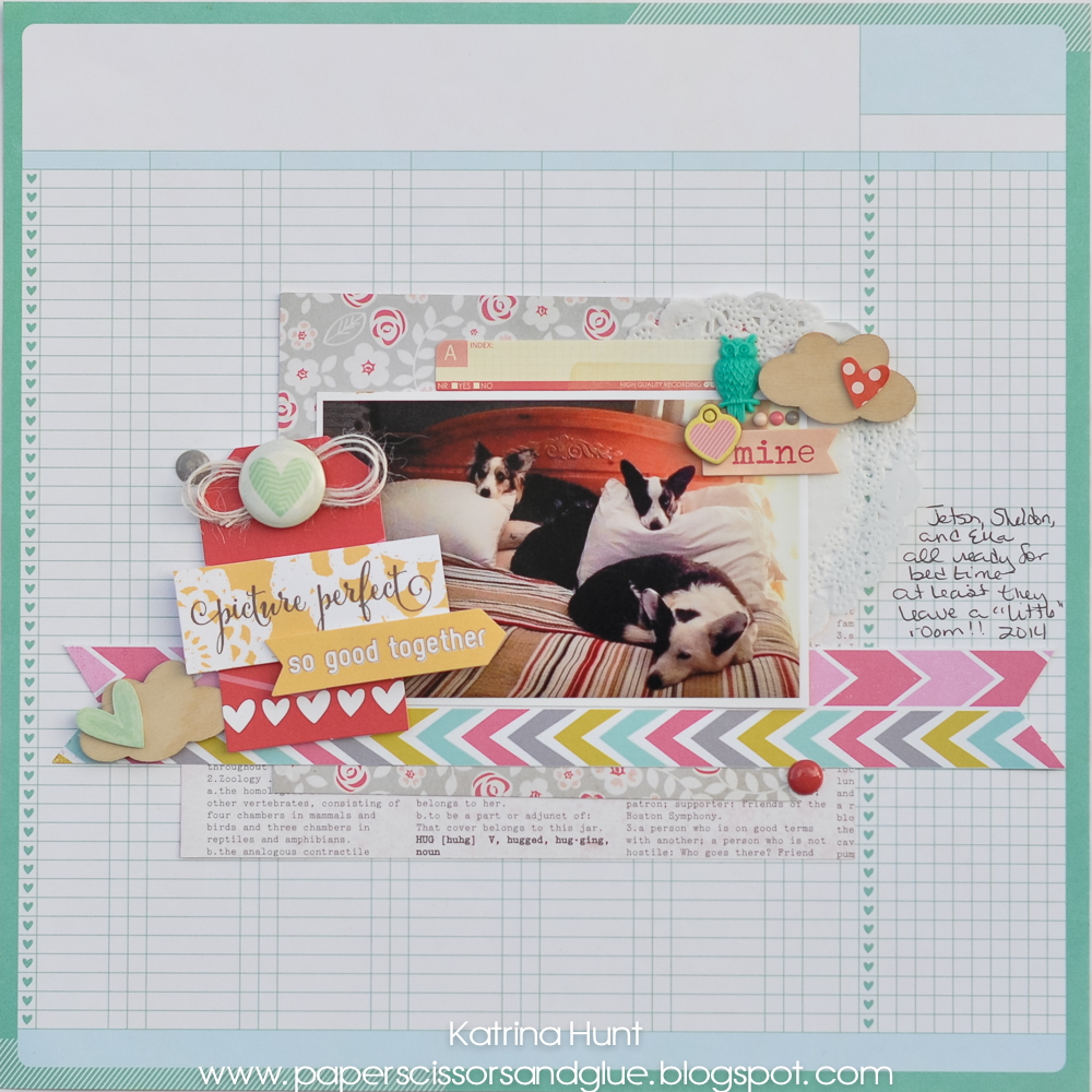 Picture Perfect with Gossamer Blue (February) and 3 Birds Design News!