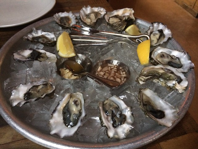Oysters on the half shell - District