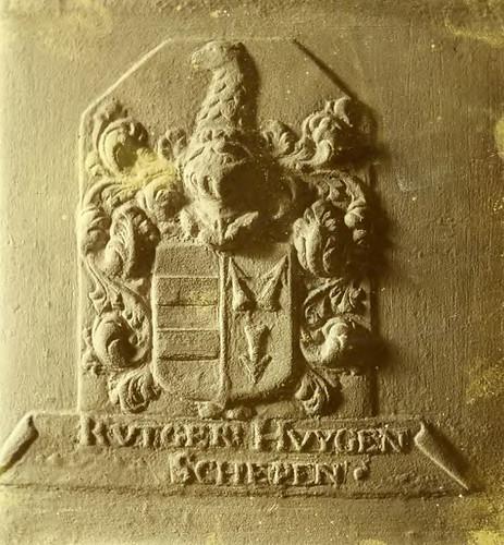 Het wapen van Rutger Huyghens
