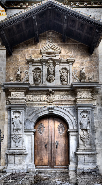Capilla real, Catedral de Granada / Door to Royal Chapel ...
