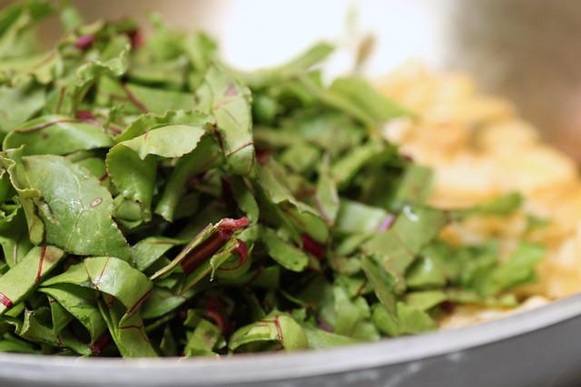 italian spring foods beet greens