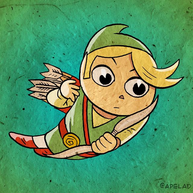 Link, Twitter Avatar