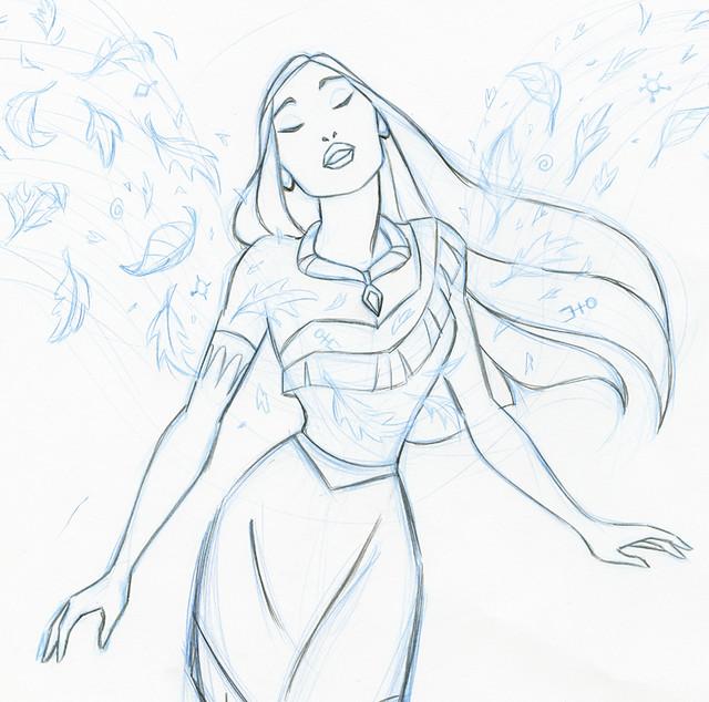 Disney Pocahontas Drawing Disney Princess Pocahontas
