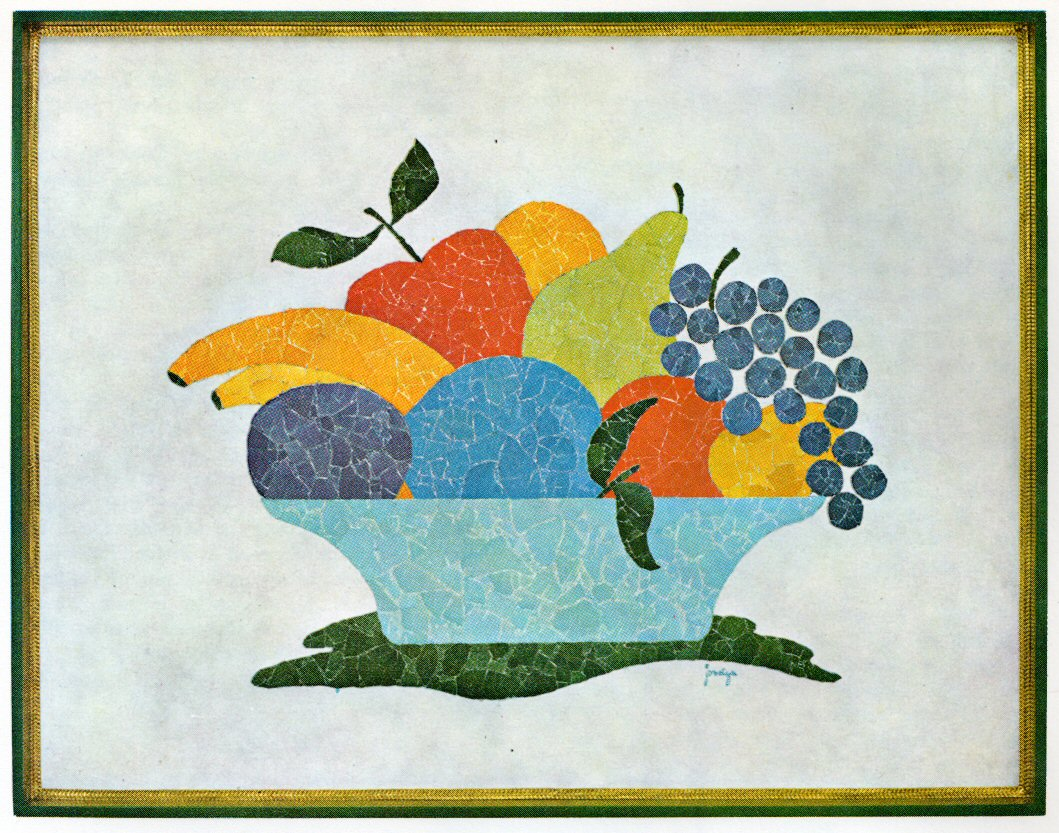 Eggshell mosaics transform your eggshells into a work of for Egg mosaic design