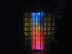 Glass Block Display w/ Diffusers (inside)