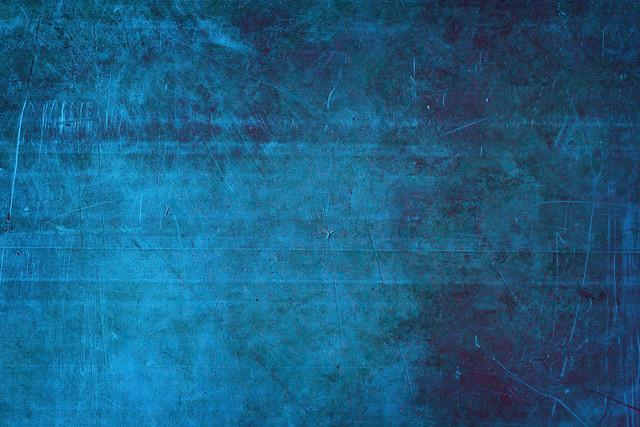 Blue Metal Background Medium