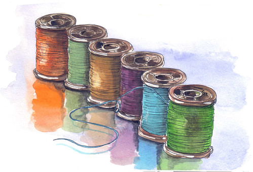 Carretes de hilo (Spools of Thread)