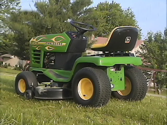 how to start a john deere stx38
