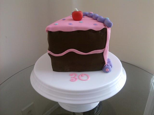 Images Of Birthday Cake Slices : My 30th Birthday Cake (slice) Flickr - Photo Sharing!