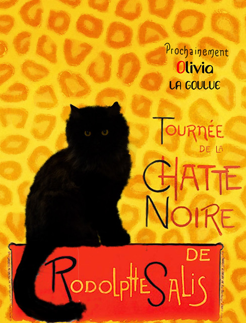 tournée de la chatte noire.