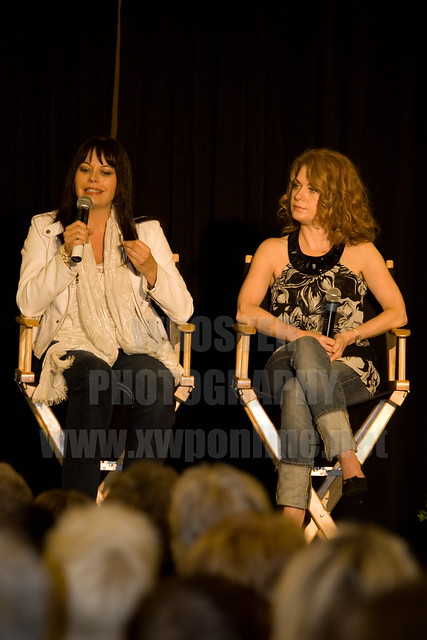 Musetta Vander and Paris Jefferson at the 2010 Xena Convention ...