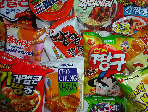 Korean Snacks & Instant Noodles